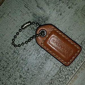 Coach key chain or purses